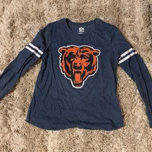Chicago Bears NFL Long Sleeve Shirt - Womens Large
